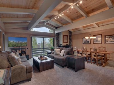 Photo for NEW! Tahoe City Condo w/Deck - Walk to Lake & Pool