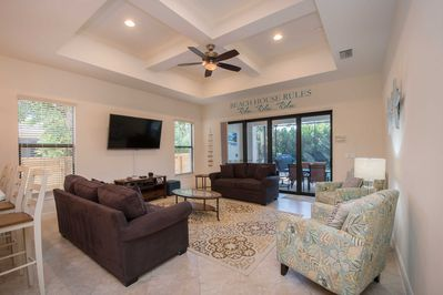 This lavish 2,051-square-foot home comfortably sleeps 8 guests!