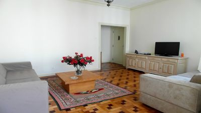 Photo for 3 bedroom apartment corner from the beach in the best point of Copacabana.