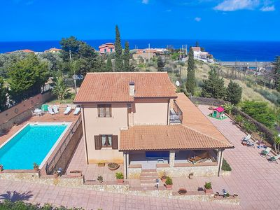 Photo for Villa Sansone Private Pool Special Price WIFI Private Parking Palermo-Cefalù