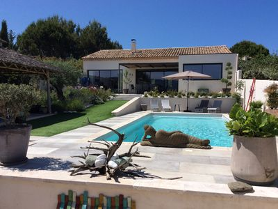 Photo for Superb contemporary villa with private pool