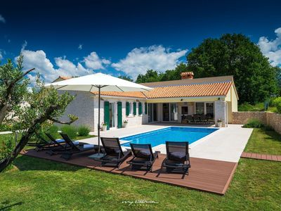 Photo for Beautiful Villa near Rabac with private pool
