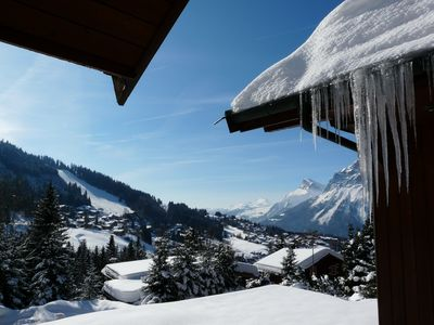 Photo for APARTMENT 3 STARS in Chalet - 300 m from the slopes - 6 PERSONS - AUX CARROZ