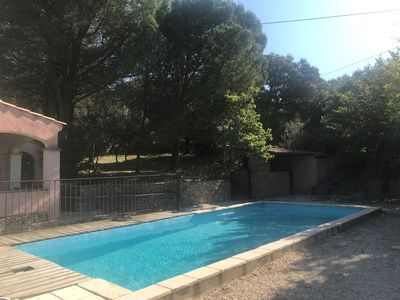 Photo for SEASONAL RENTAL - VILLA IN GARRIGUE NIMOISE WITH SWIMMING POOL