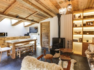 Photo for Beautiful 3P Apartment in the Heart of Megeve!