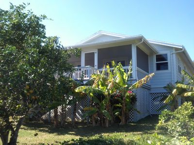 Photo for Beautiful waterfront Rental Property w/ dockage within Hope Town Harbour, Abaco