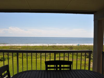 Photo for Oceanfront condo just minutes from the heart of historic St Augustine