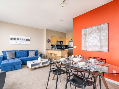 Photo for Amazing 1BR Condo - Stunning View - Parking!
