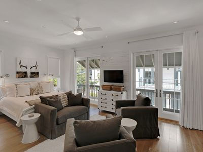 Photo for Classic Style-Cozy Studio-Two Bikes-Short Walk to Beach/Town-In Rosemary Beach