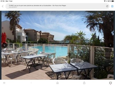 Photo for T3 - Sea - Pool - 2ch - 2 baths - PK - 6 people