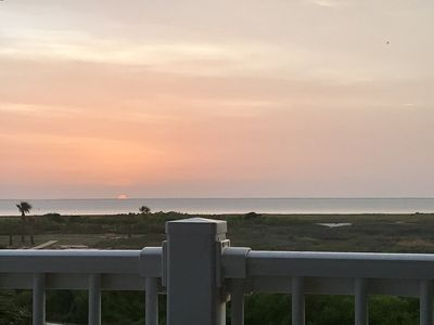SUNSET FROM YOUR BALCONY