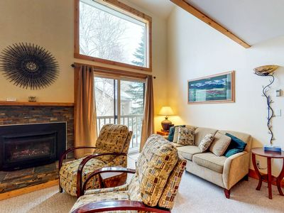 Photo for Lovely Elkhorn condo - ski in/ski out on Dollar w/ shared pool & hot tub!