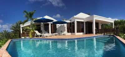 Photo for Best Value 2 BR Villa at Mead Bay Anguilla - Beach Palm Villa, Luxury Villa