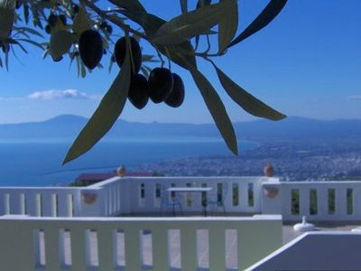 Photo for Spacious 2 bedroom holiday home with fabulous views over Kalamata