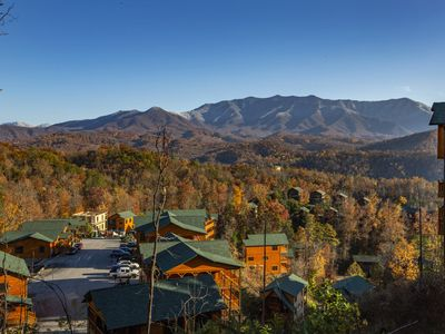 Photo for Brand New Luxury Lodge: 1.5 miles to Gatlinburg & 3 Huge Decks!