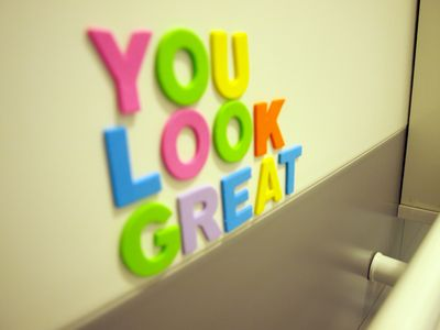 You look great.