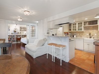 Photo for Bright, charming, quiet cottage in beautiful neighborhood and landscaped gardens