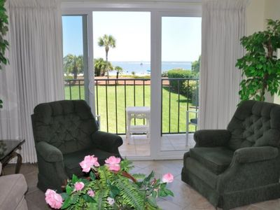 Photo for Ocean front retreat - spectacular sunsets - great for walking on beach
