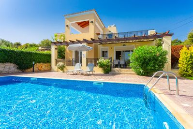 Beautiful villa with private pool, terrace, and large garden