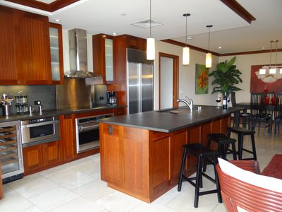 State-of-the-art kitchen with open layout perfect for entertaining