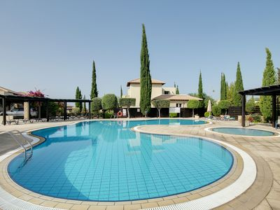 Photo for Villa Serene a lovely 4 bed villa located in the 5* resort of Aphrodite Hills!