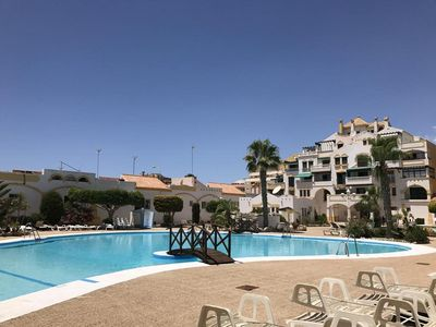Photo for Holiday apartment Roquetas de Mar for 2 - 4 persons with 1 bedroom - Holiday apartment