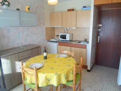 Photo for Apartment Balaruc-les-Bains, studio flat, 2 persons
