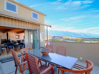 Photo for Sweeping Views | Contemporary Alpine Living | BBQ and Balcony