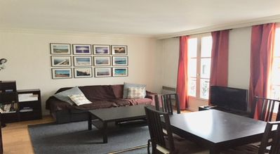 Photo for 2 BEDROOMS, 1 BATH IN THE HEART OF OLD PARIS W LIFT /ACCOMODATION FOR 4 PEOPLE