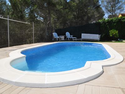 Photo for House with pool, Garraf natural park and near Sitges beach FREE WIFI