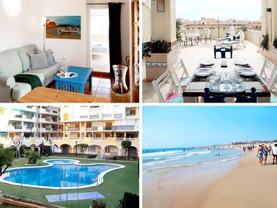 Photo for Exclusive Penthouse - La Mata / Pool / 300m from Beach / Wifi