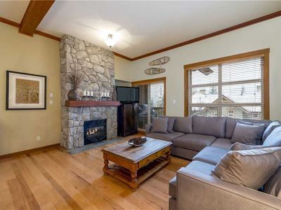 Photo for DEEP CLEANED + READY, SKI IN/OUT, Free Parking, Mountain Views, Private Hot Tub