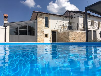 Photo for Villa No24 Istrian old stone house with pool located in small and peacefull