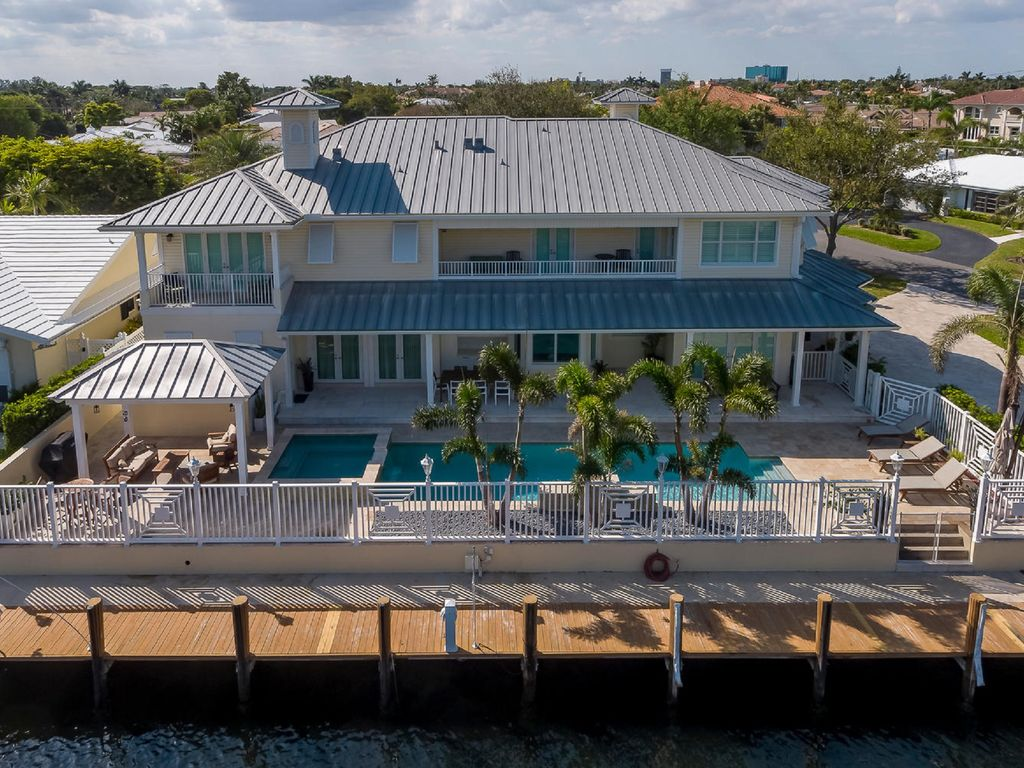 Modern Key West Style Waterfront Beach House Walk To Hot Deal Sep Oct