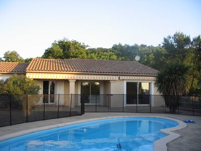 Photo for Modern Family Villa private pool and garden  Carcassonne .