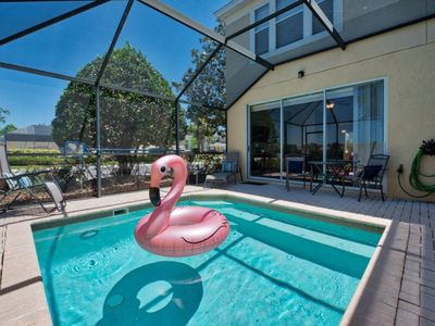 Photo for Mouse Ears Villa | 3 bed townhome, End unit minutes to clubhouse pool and slides