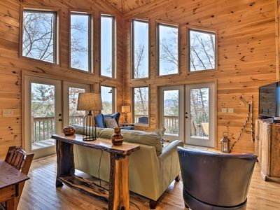 Photo for NEW! 'Tar Hill' Cabin - 10 Min to Downtown Murphy!