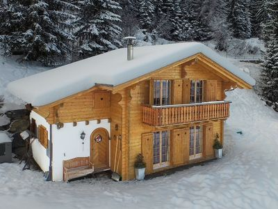 Photo for Chalet Mont Rose - Ski-in & ski-out 4-star luxury for 10 people with car access