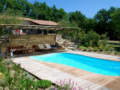 Photo for COUNTRY HOUSE AT THE FOOT OF LUBERON - 800 to € 1,350 / week