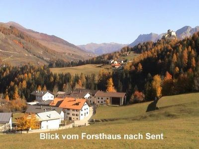 Photo for Apartment Ferienwohnung Forsthaus Falkenstein in Tarasp - 4 persons, 2 bedrooms