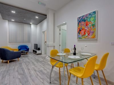 Photo for Stylish 3BR Apartment, Fantastic Location in Sliema