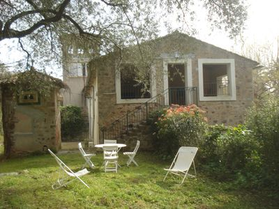 Photo for Flat with loggia in a charming 18th century family estate, quiet, with independant entrance.