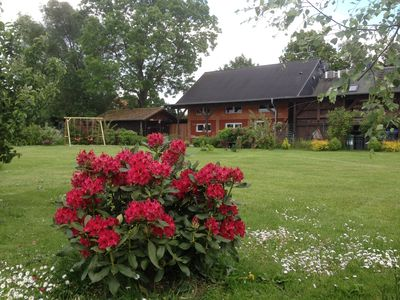 Photo for Cottage, close to the lake, on the edge of the village, very quiet under the stars, garden.