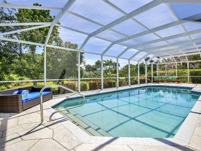 Photo for (5 Bedrooms+Playroom) 3.5 Baths & Salt Water Pool- Fire-pit  - Kids Paradise!