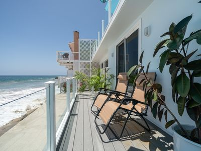 Photo for Stunning OceanFront 1 Bedroom Malibu Condo