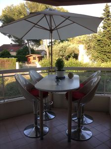 Photo for F2 APARTMENT WITH TERRACE, RECENT, SECURE RESIDENCE, POOL, CLOSE TO CANNES