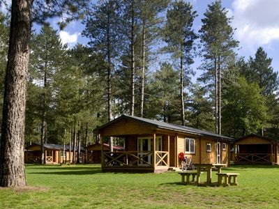 Photo for 4-person chalet in the holiday park Landal Mooi Zutendaal - in the woods/woodland setting