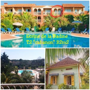 "Photo for T2 ""Cabanons"" 5pers, Beach swimming pool ""Ecrins de la Badine"""