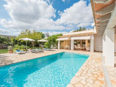 Photo for This 2-bedroom villa for up to 4 guests is located in C'an Picafort and has a private swimming pool,
