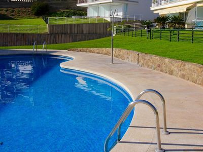 Photo for Private residence located directly Creek Almadrava, with access to it